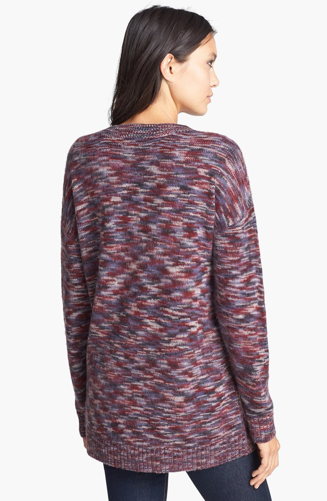 Alternate Image 2  - Leith Brushed Space Dye Pullover
