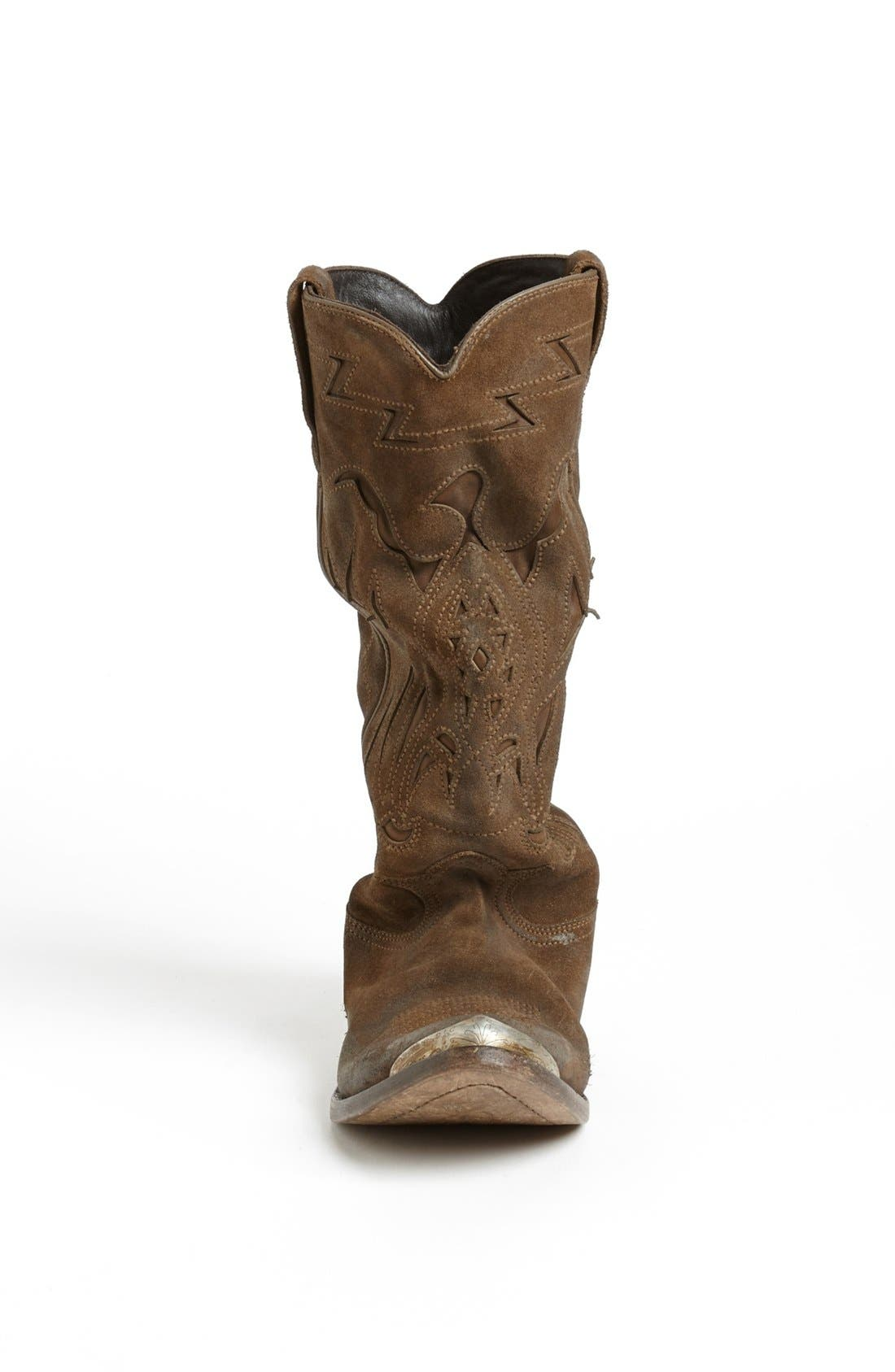 Alternate Image 3  - Golden Goose 'Flying' Distressed Western Boot