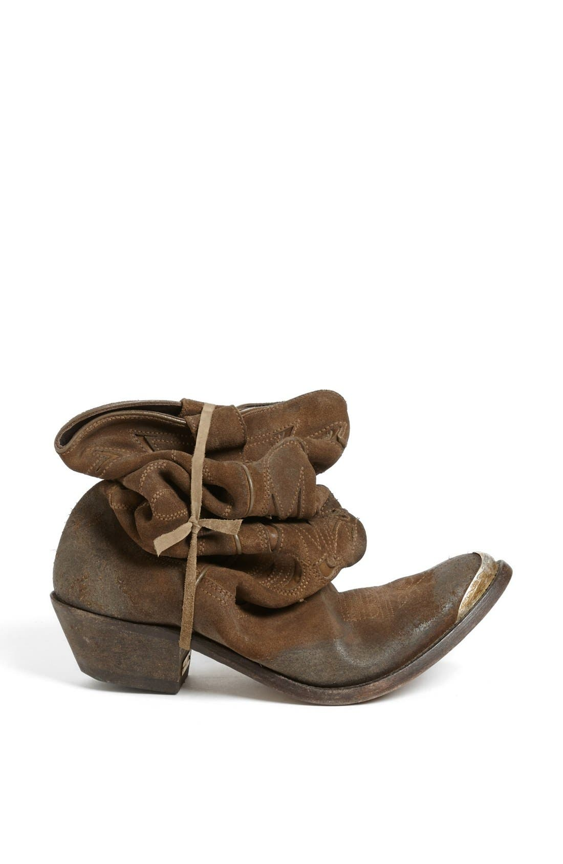 Alternate Image 5  - Golden Goose 'Flying' Distressed Western Boot
