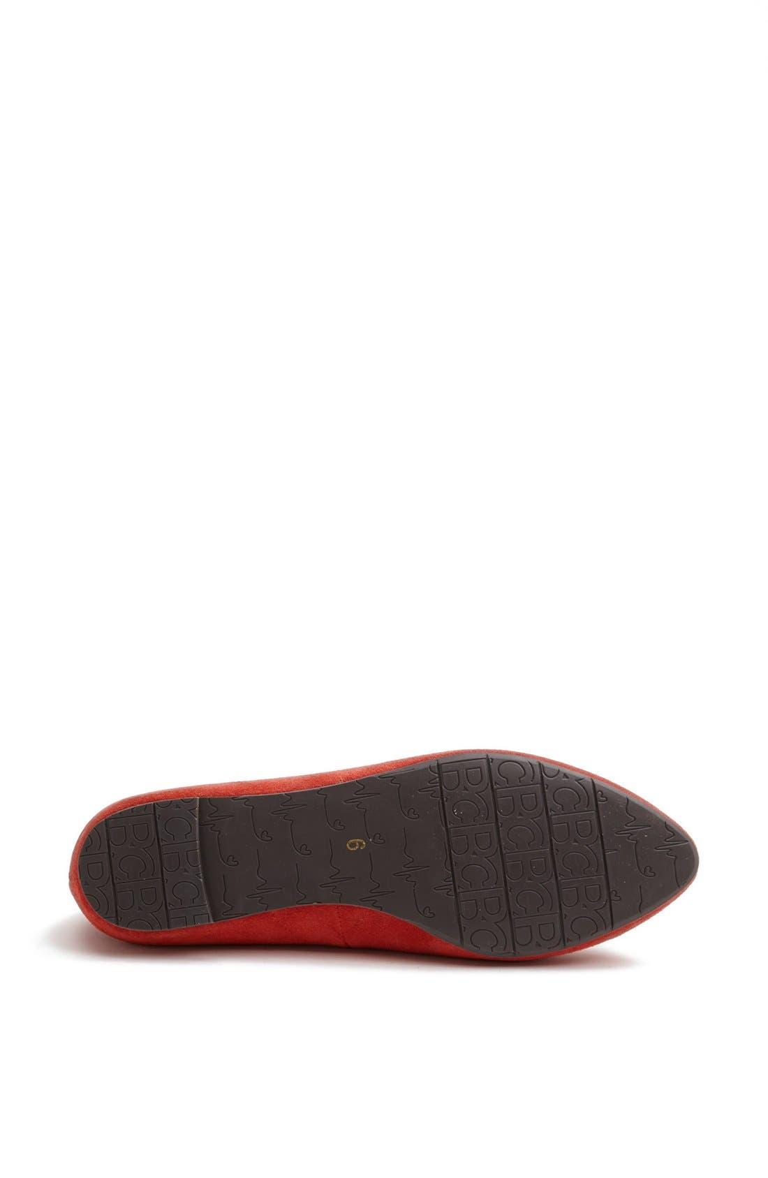 Alternate Image 4  - BC Footwear 'Tempo' Tiger Charm Flat