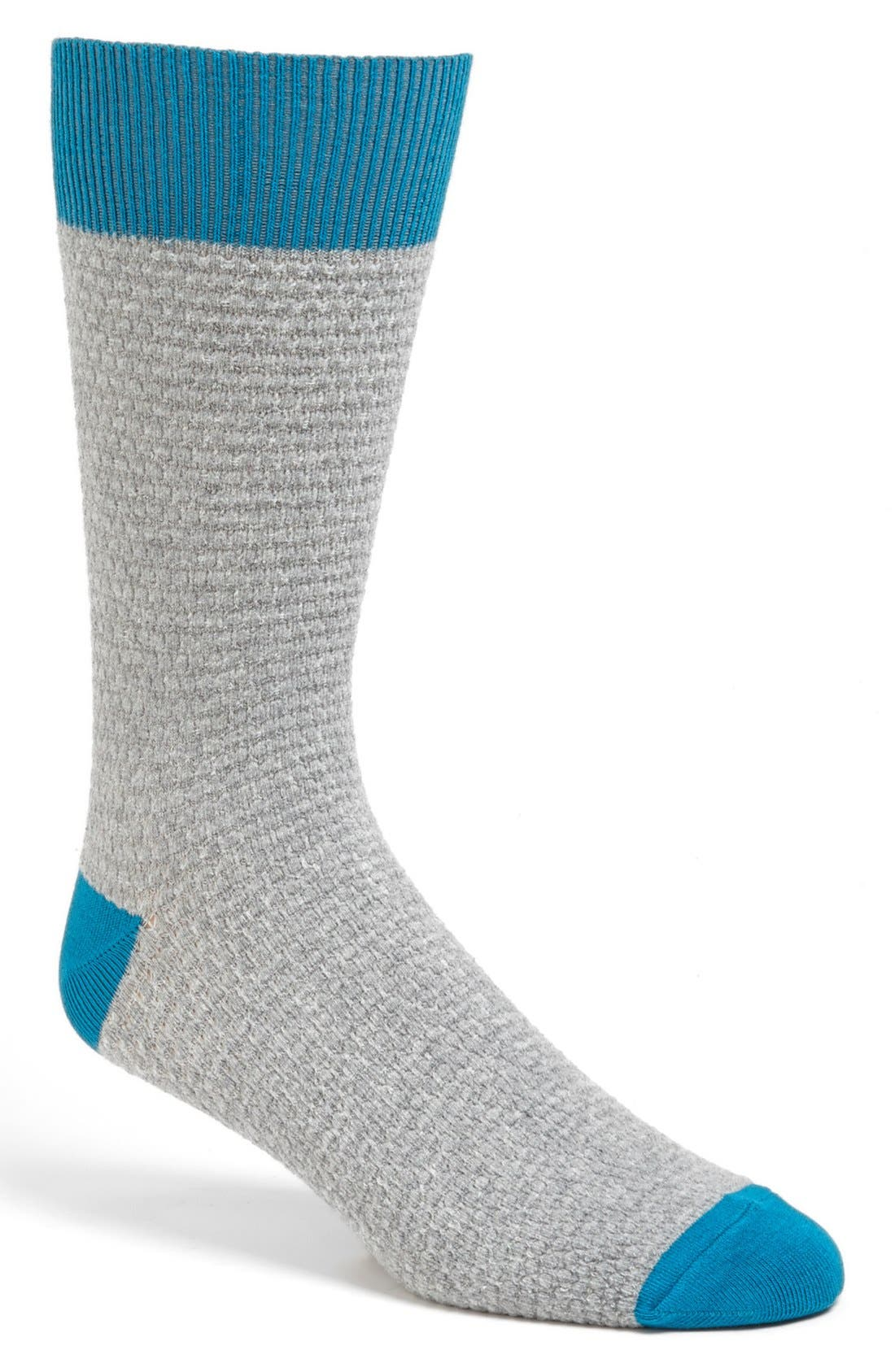Alternate Image 1 Selected - PACT Waffle Knit Sock