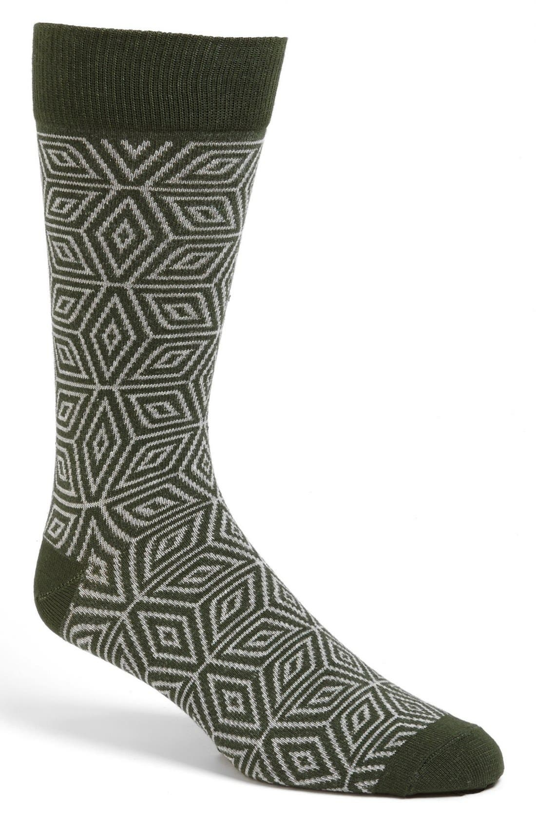 Alternate Image 1 Selected - Pact 'North Star' Socks