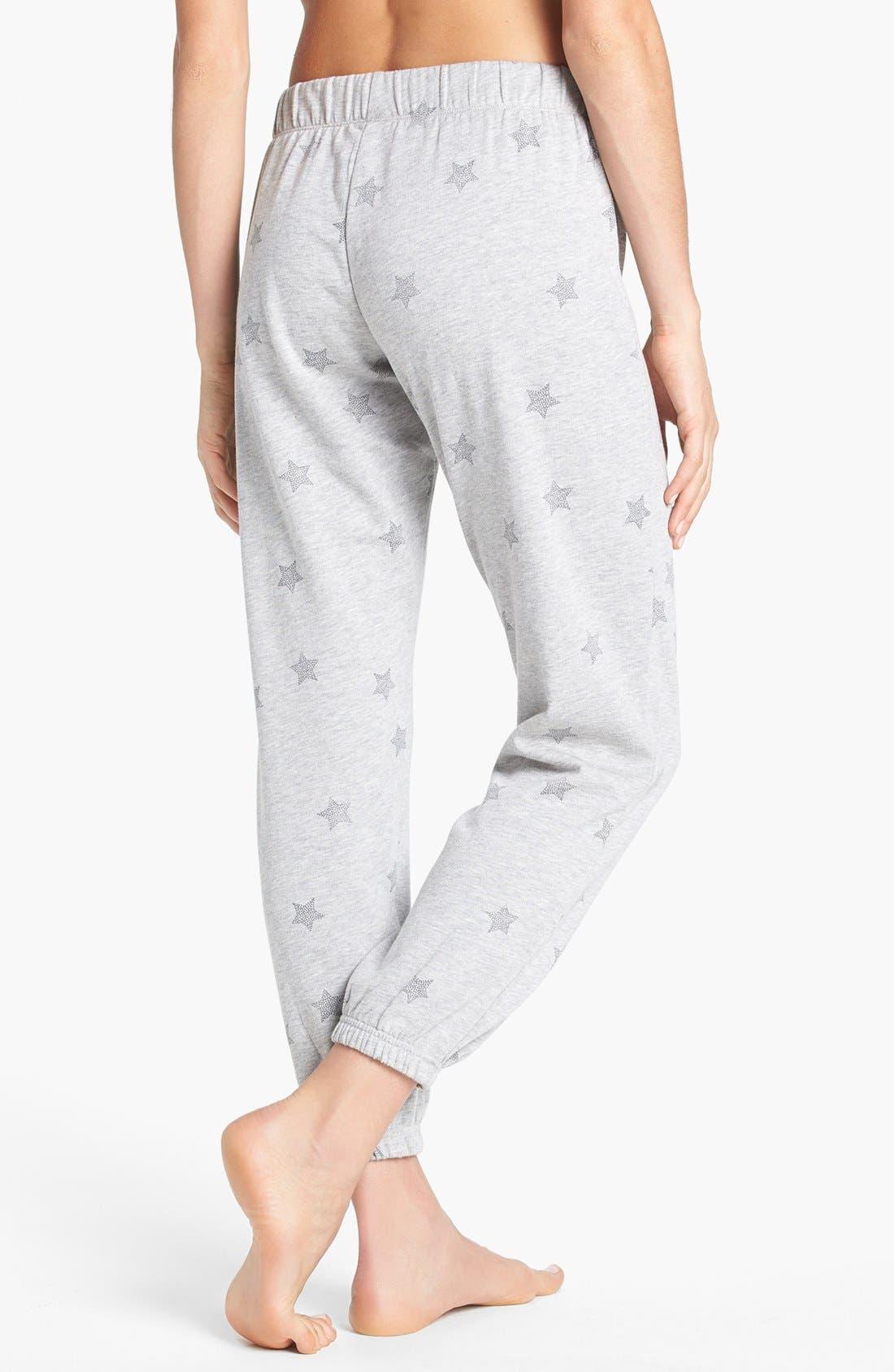 Alternate Image 2  - Make + Model 'Jogger' Fleece Pants
