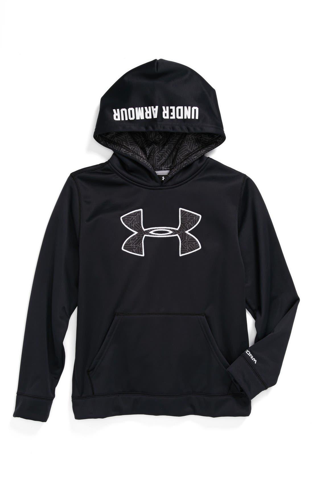 Main Image - Under Armour 'Storm Big Logo' Hoodie (Big Boys)