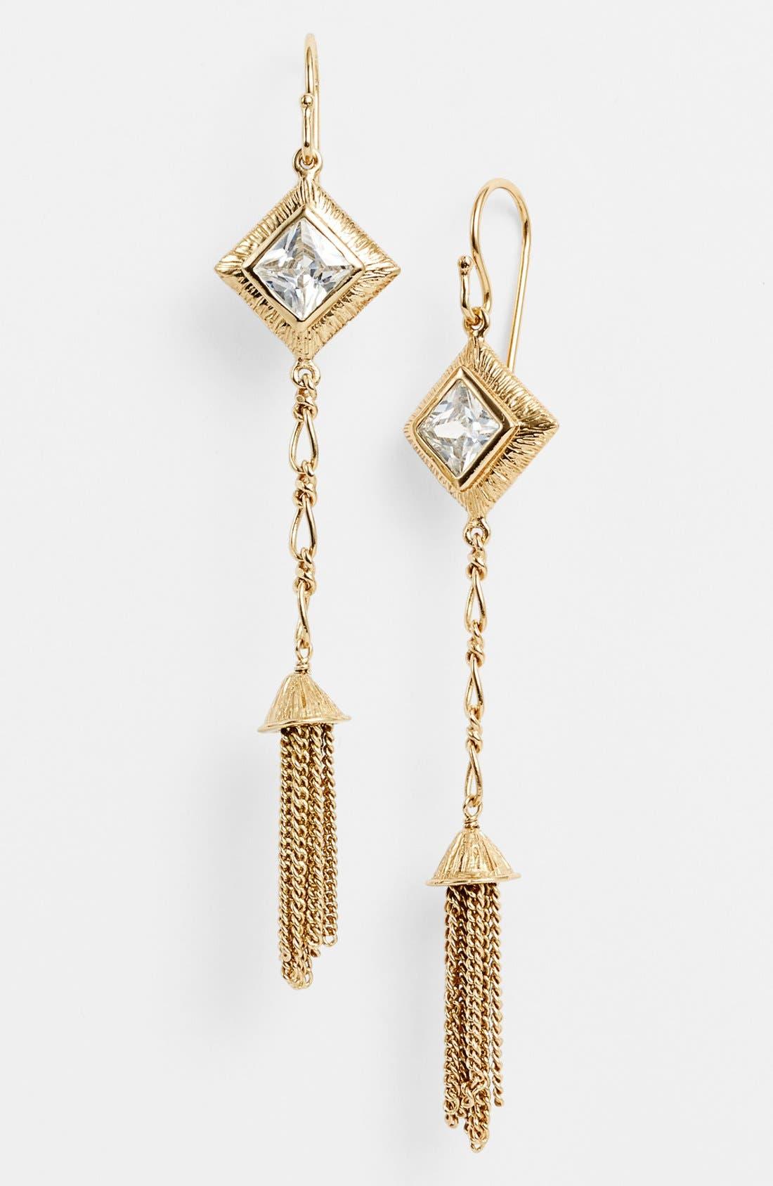 Main Image - Melinda Maria 'Mosaic - Selena' Linear Earrings