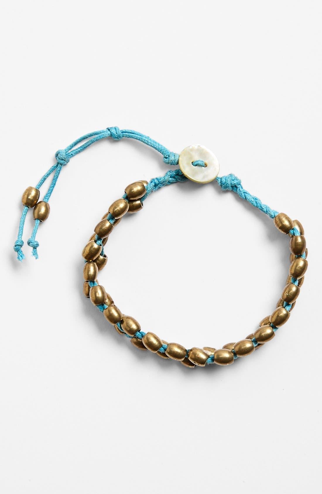 Alternate Image 1 Selected - Me to We Artisans 'Kamba' Beaded Bracelet (Juniors)
