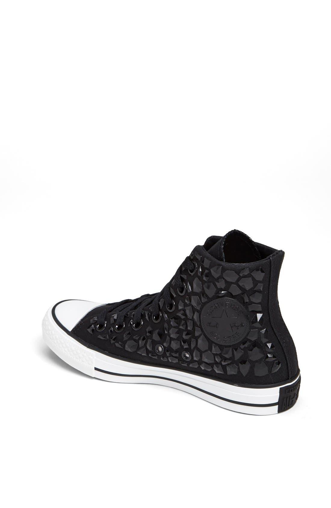 Alternate Image 2  - Converse Chuck Taylor® All Star® 'Rhinestone' High Top Sneaker (Women)