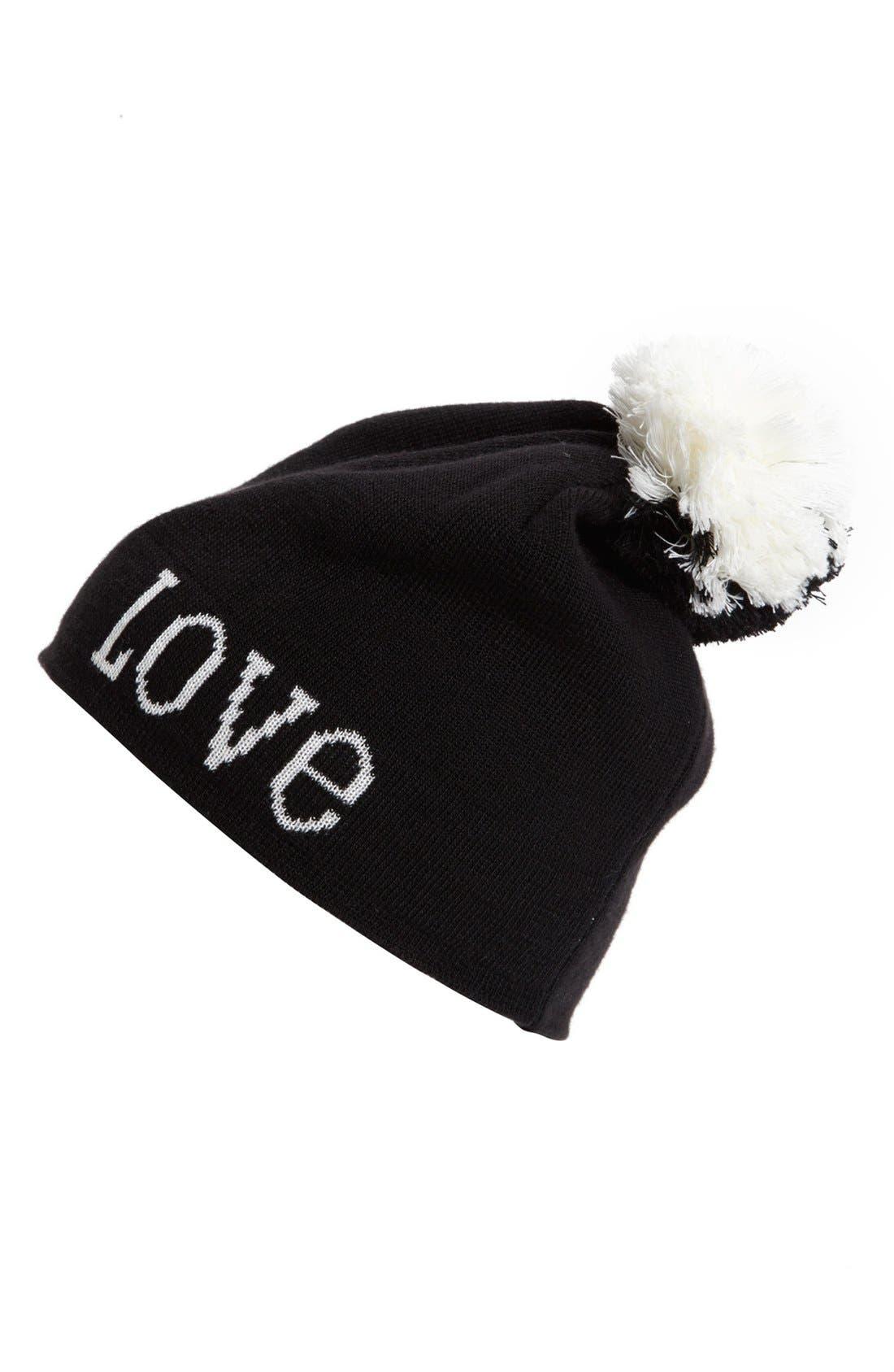 Alternate Image 1 Selected - Jonathan Adler 'Love' Knit Beanie