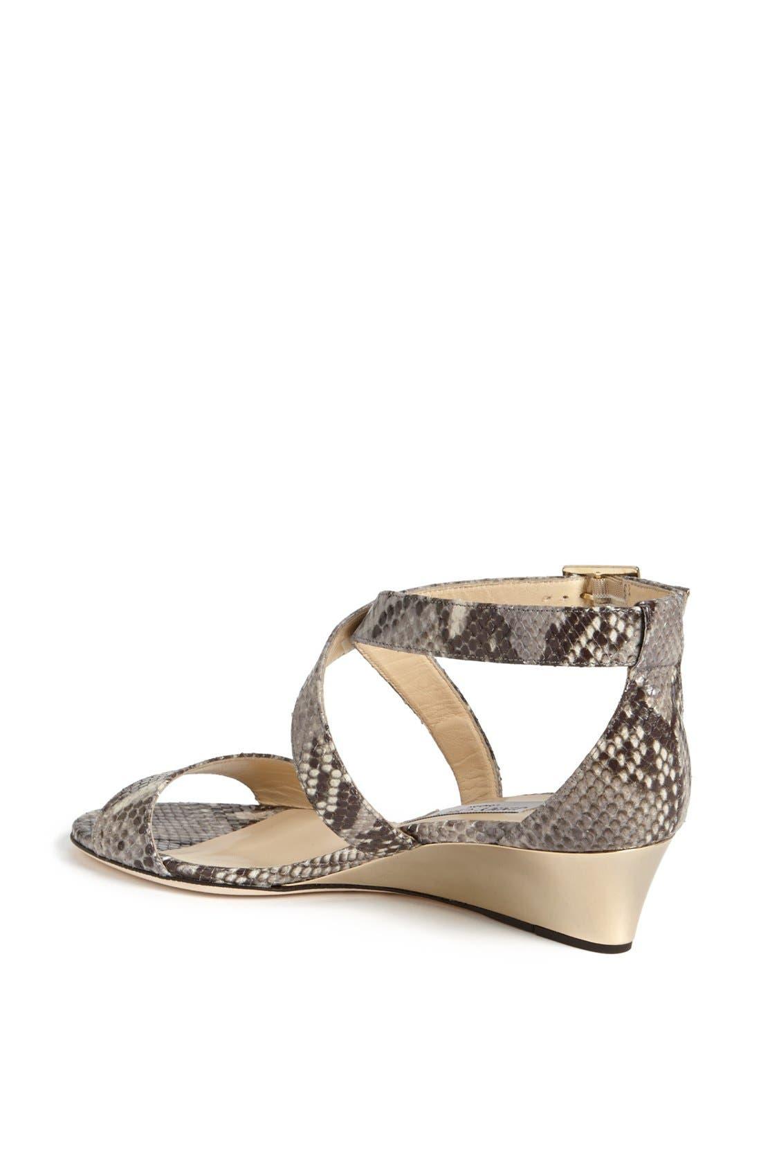 Alternate Image 2  - Jimmy Choo 'Chiara' Wedge Sandal