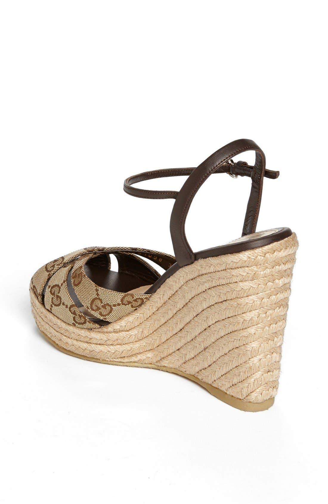 Alternate Image 2  - Gucci 'Penelope' Espadrille Sandal