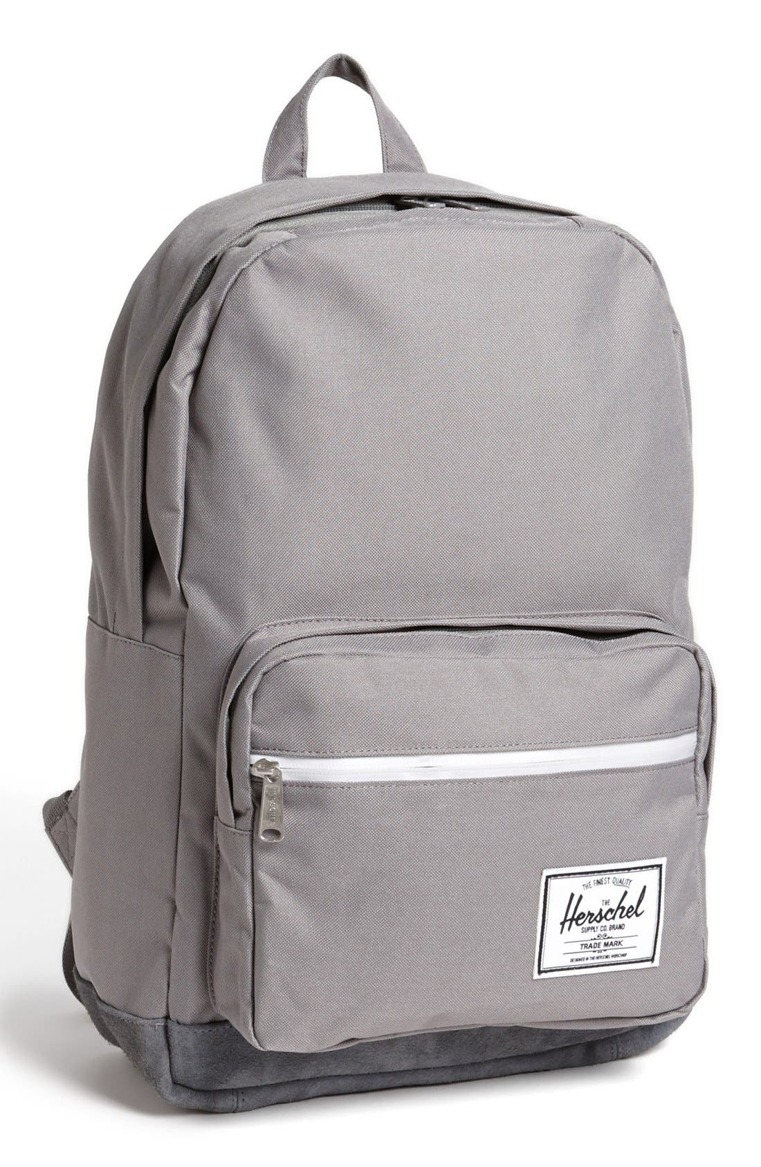 Alternate Image 1 Selected - Herschel Supply Co. 'Pop Quiz' Suede Trim Backpack