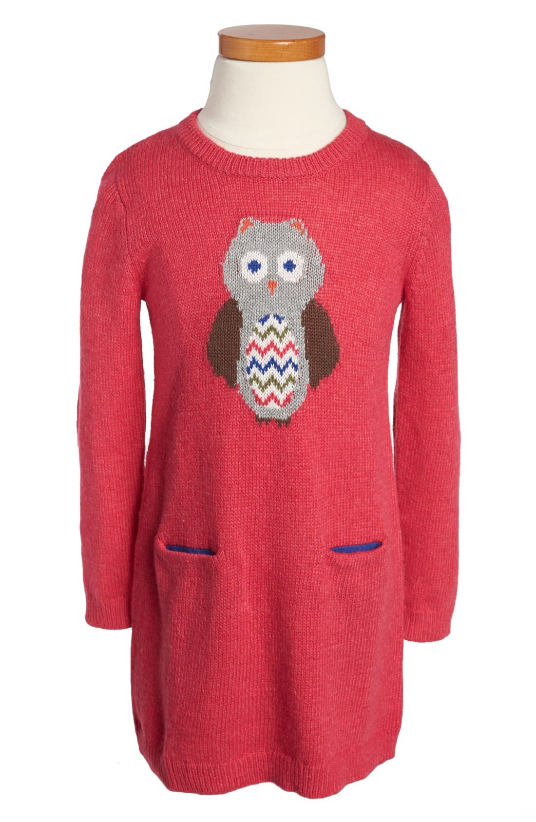Main Image - Tucker + Tate 'Chantel' Intarsia Knit Dress (Toddler Girls)
