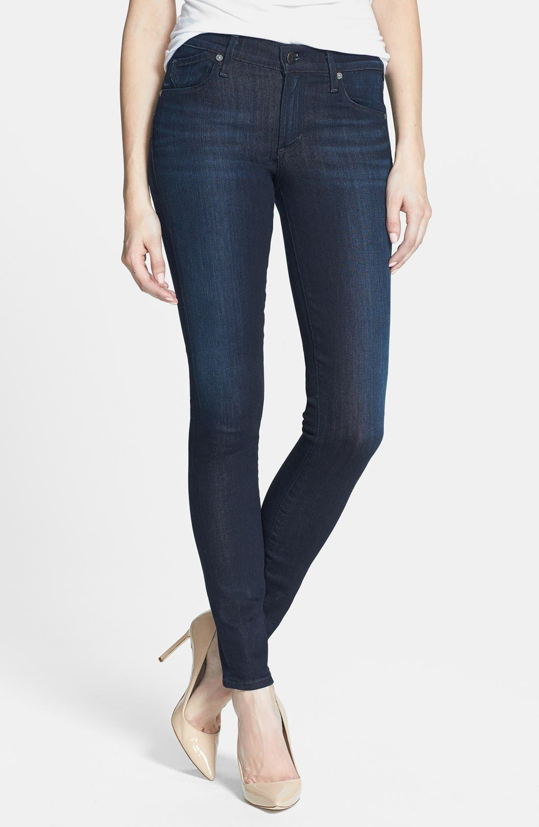 Alternate Image 1 Selected - Citizens of Humanity Ultra Skinny Jeans (Space)