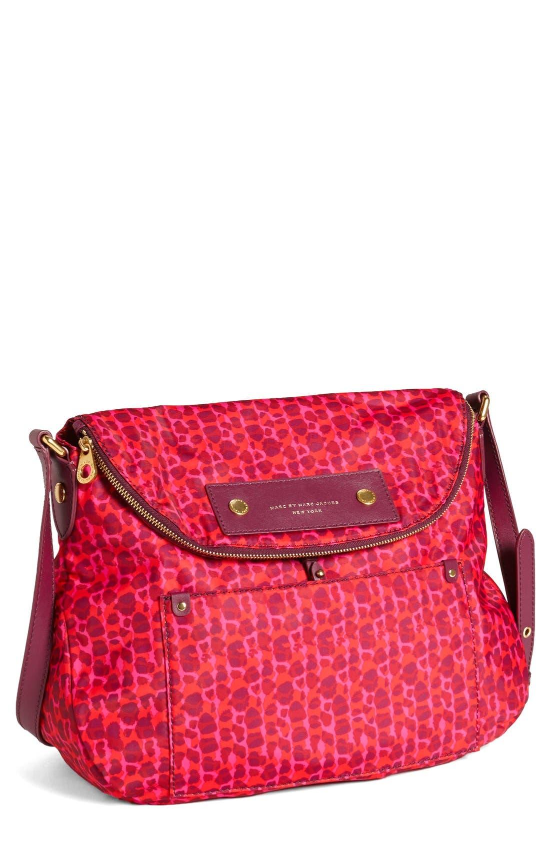 Alternate Image 1 Selected - MARC BY MARC JACOBS 'Preppy Nylon - Printed Sasha' Crossbody Bag