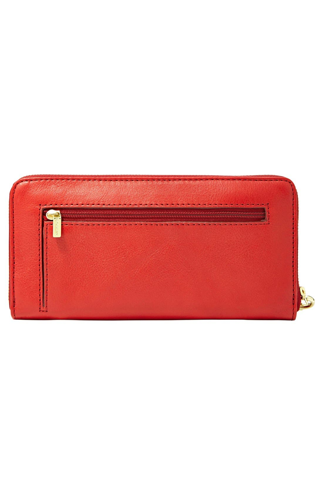 Alternate Image 2  - Fossil 'Sydney' Colorblock Clutch Wallet