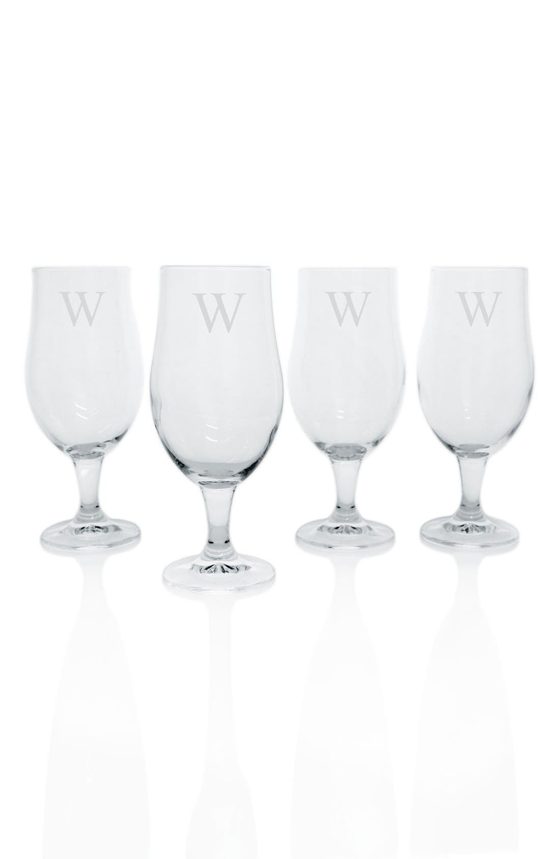 Alternate Image 2  - Cathy's Concepts Personalized Pilsner Glasses (Set of 4)