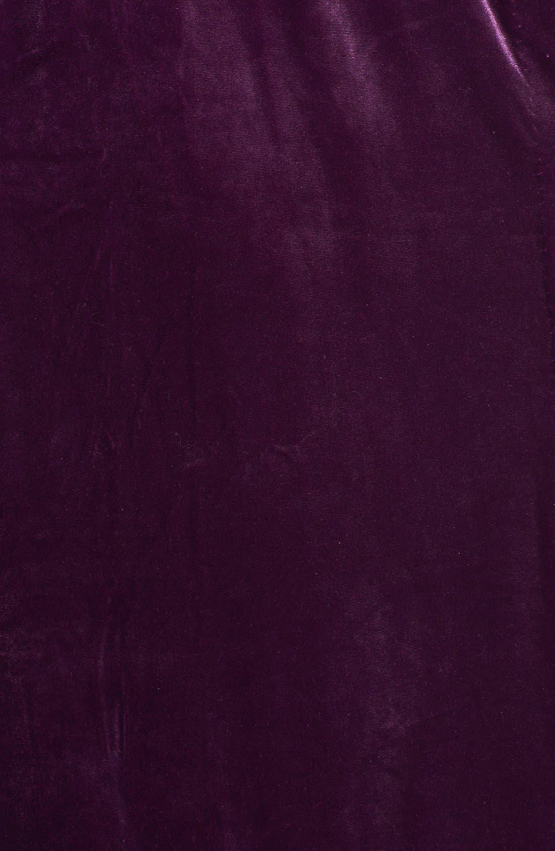 Alternate Image 3  - Oscar de la Renta Sleepwear 'Zahara Nights' Velvet Robe