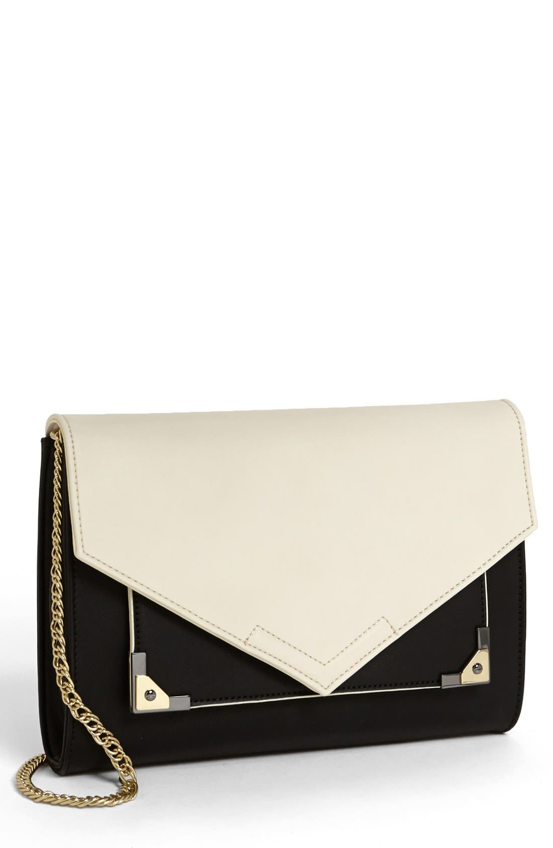Alternate Image 1 Selected - Danielle Nicole 'Jaida' Faux Leather Clutch
