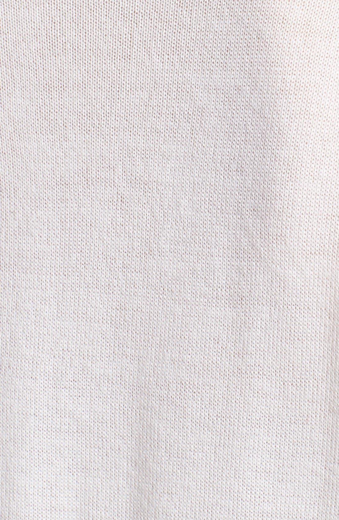Alternate Image 3  - Vince Camuto Ribbed Cowl Neck Tunic (Regular & Petite)
