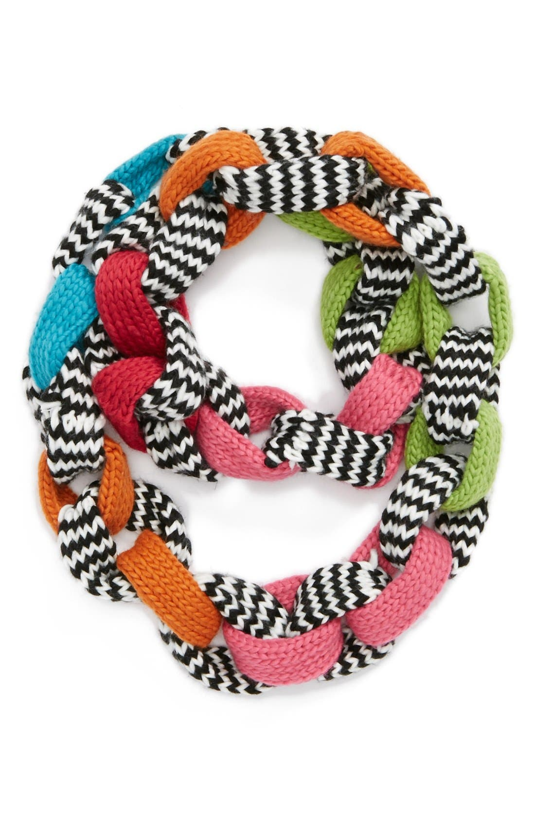 Alternate Image 1 Selected - The Accessory Collective Knit Link Scarf (Girls)