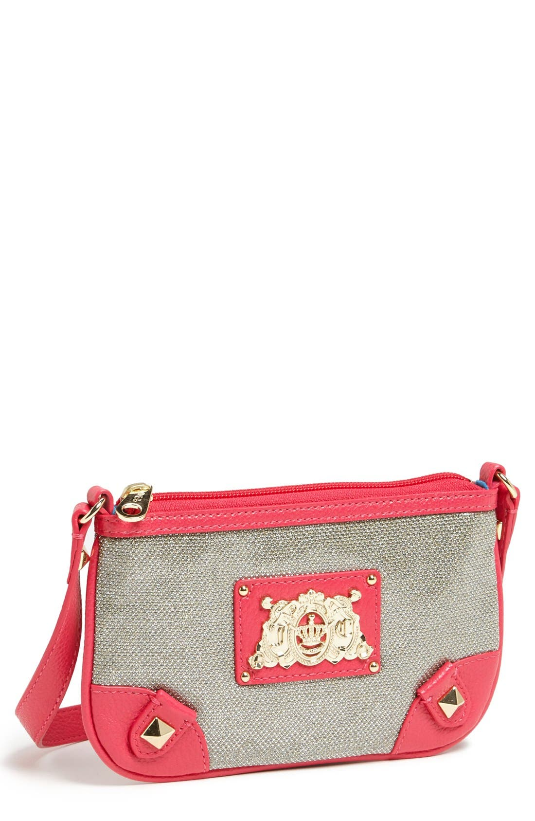 Main Image - Juicy Couture 'Bright Diamond' Crossbody Bag (Girls)