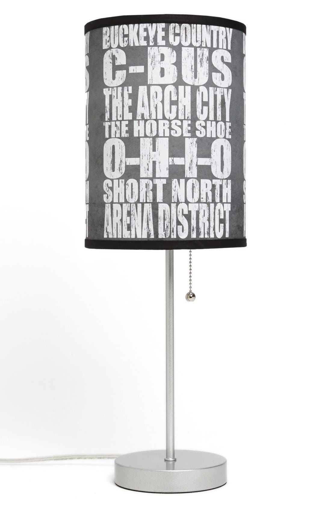 Alternate Image 1 Selected - LAMP-IN-A-BOX 'Local Words - Columbus' Print Lamp