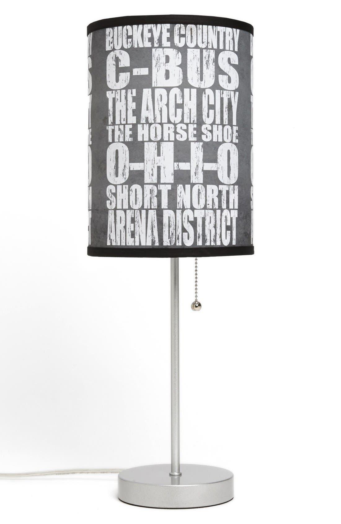 Main Image - LAMP-IN-A-BOX 'Local Words - Columbus' Print Lamp