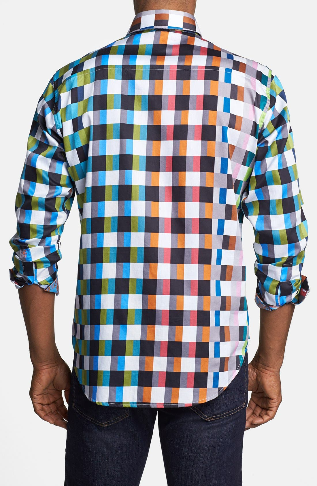 Alternate Image 3  - Robert Graham 'Sughrue' Classic Fit Sport Shirt (Limited Edition)