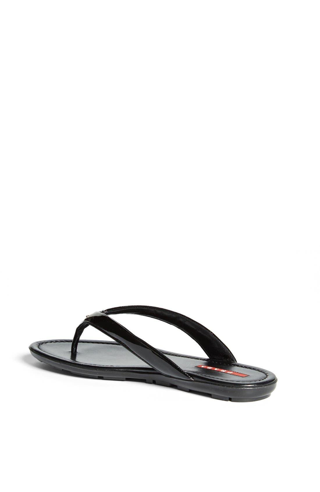 Alternate Image 2  - Prada Logo Thong Sandal