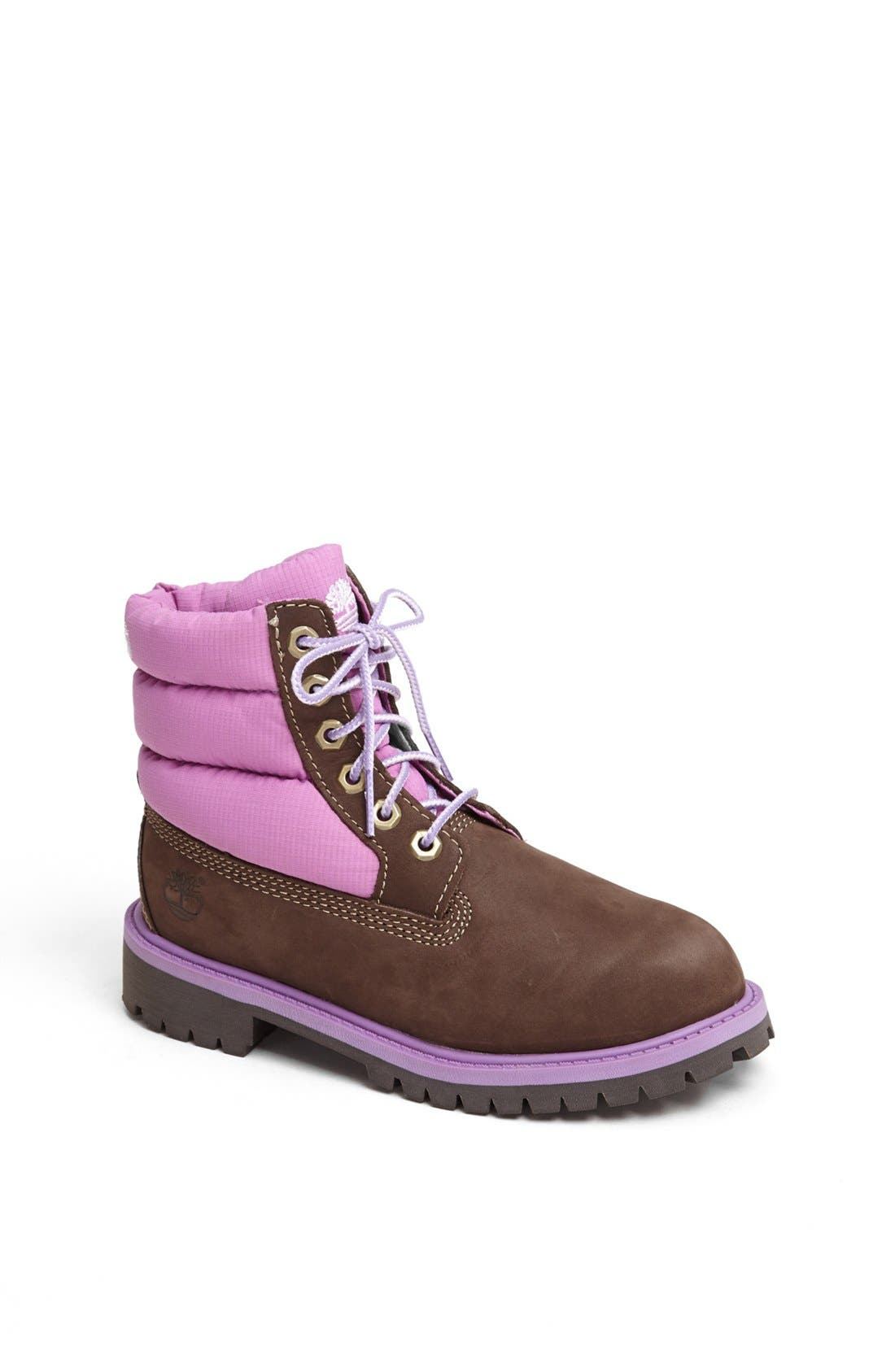 Alternate Image 1 Selected - Timberland Quilted Boot (Toddler, Little Kid & Big Kid)