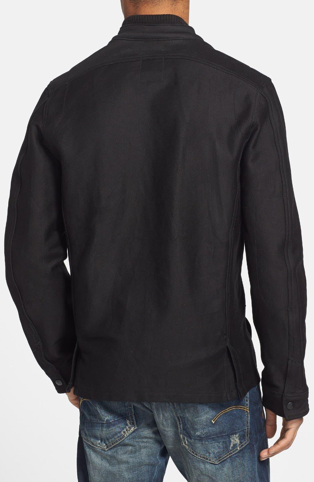Alternate Image 2  - G-Star Raw Cotton Canvas Shirt Jacket