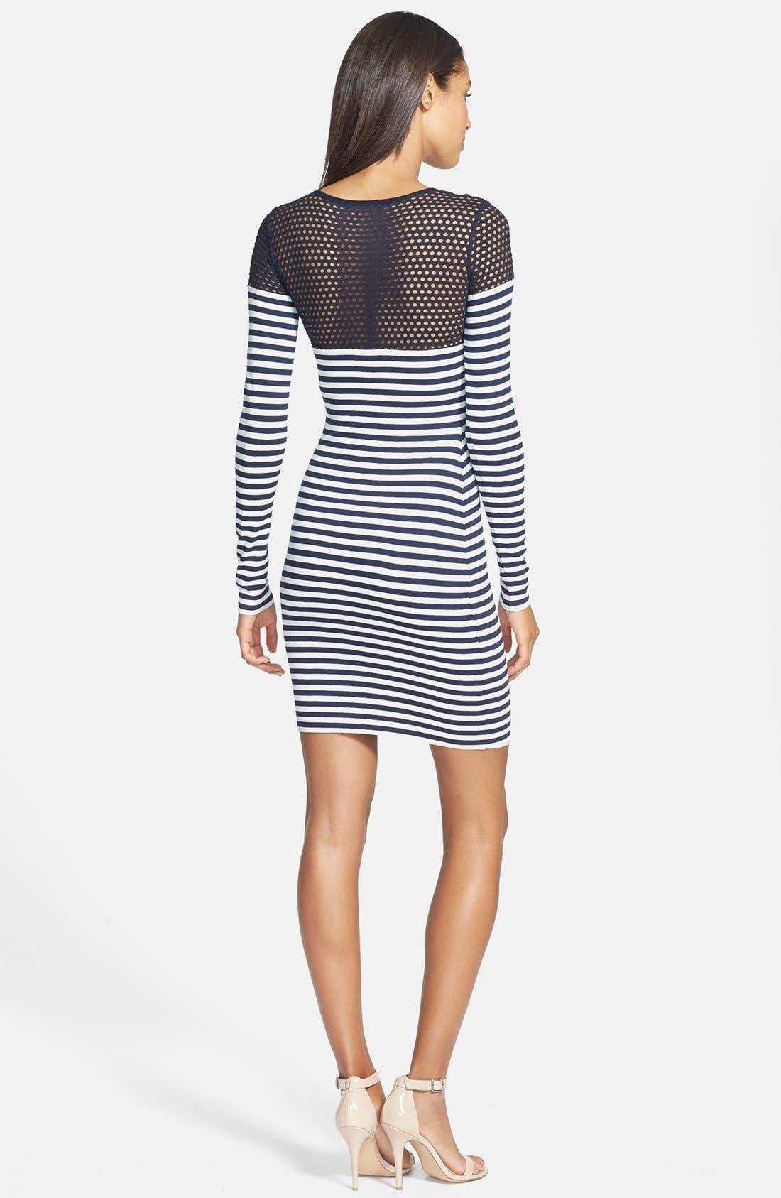 Alternate Image 2  - B44 Dressed by Bailey 44 'Open Net' Stripe Jersey Dress