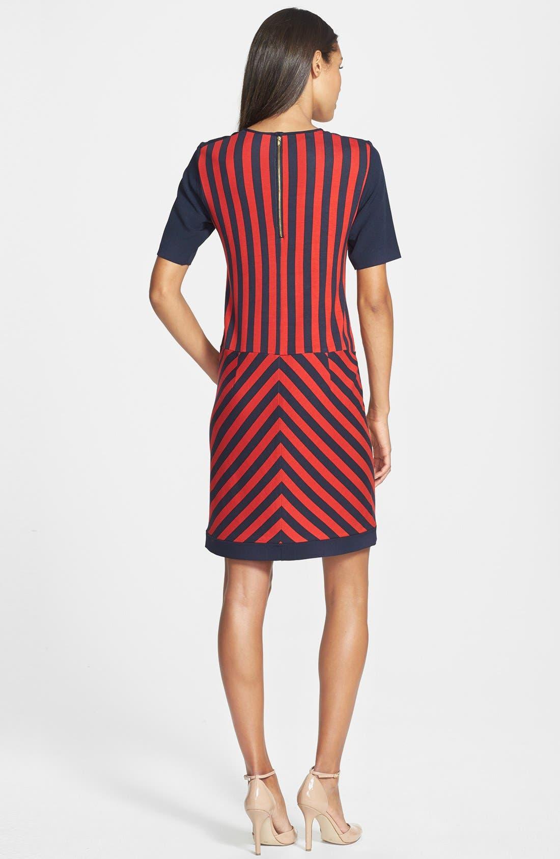 Alternate Image 3  - GRID PRINT SWEATER DRESS