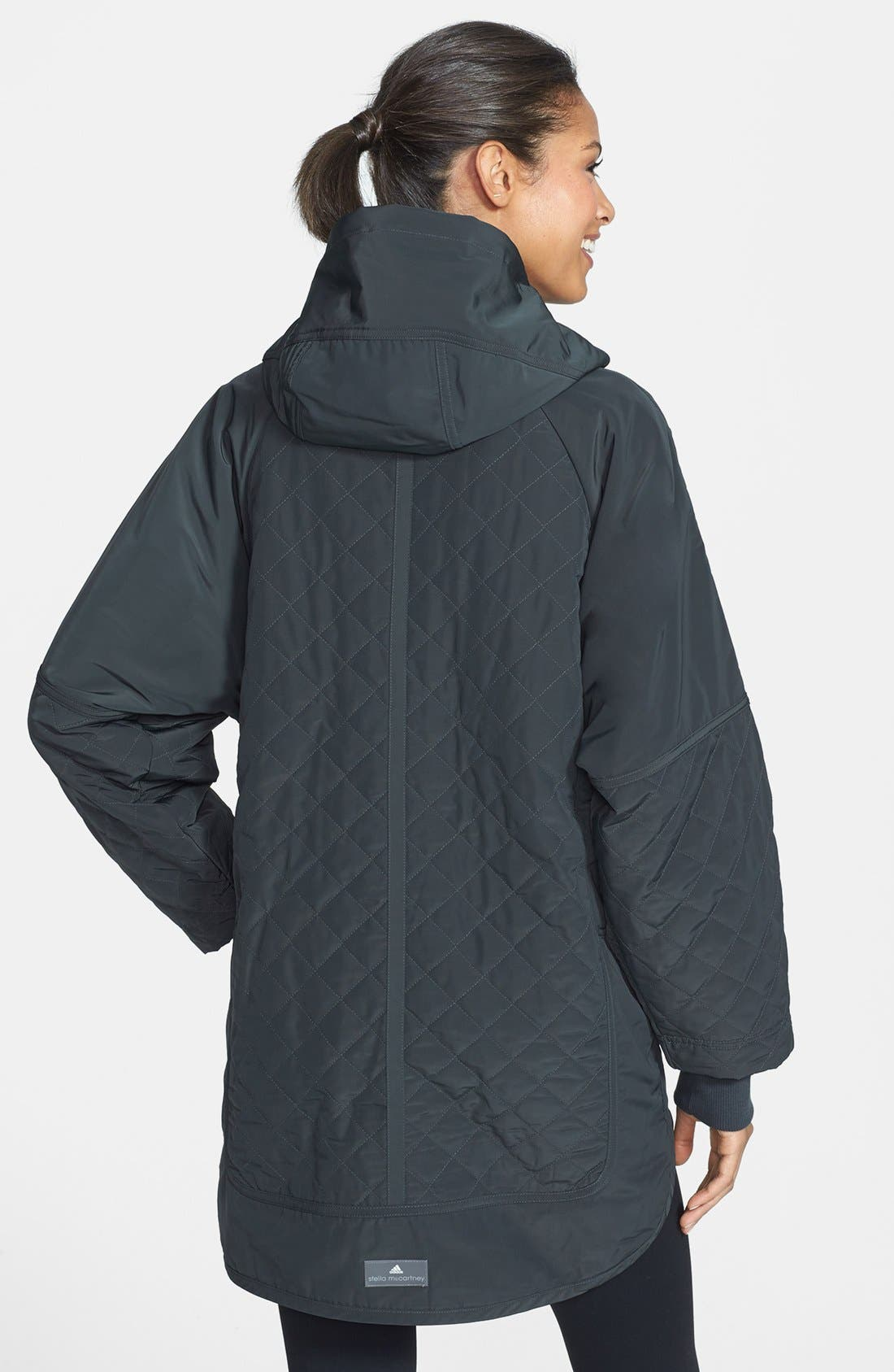 Alternate Image 2  - adidas by Stella McCartney 'Wintersport' Hooded Jacket