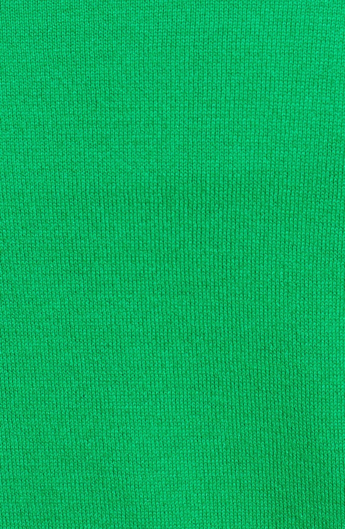 Alternate Image 3  - MICHAEL Michael Kors Colorblock Cotton Blend Crewneck Sweater