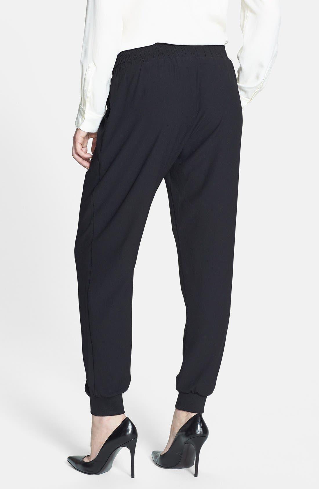 Alternate Image 2  - Bobeau Track Pants (Regular & Petite)