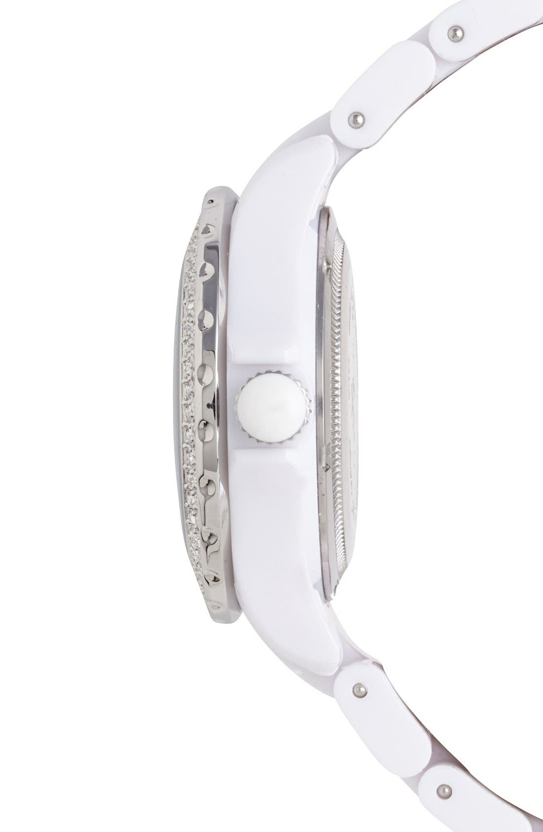 Alternate Image 3  - TOYWATCH 'Plasteramic' Bracelet Watch, 35mm