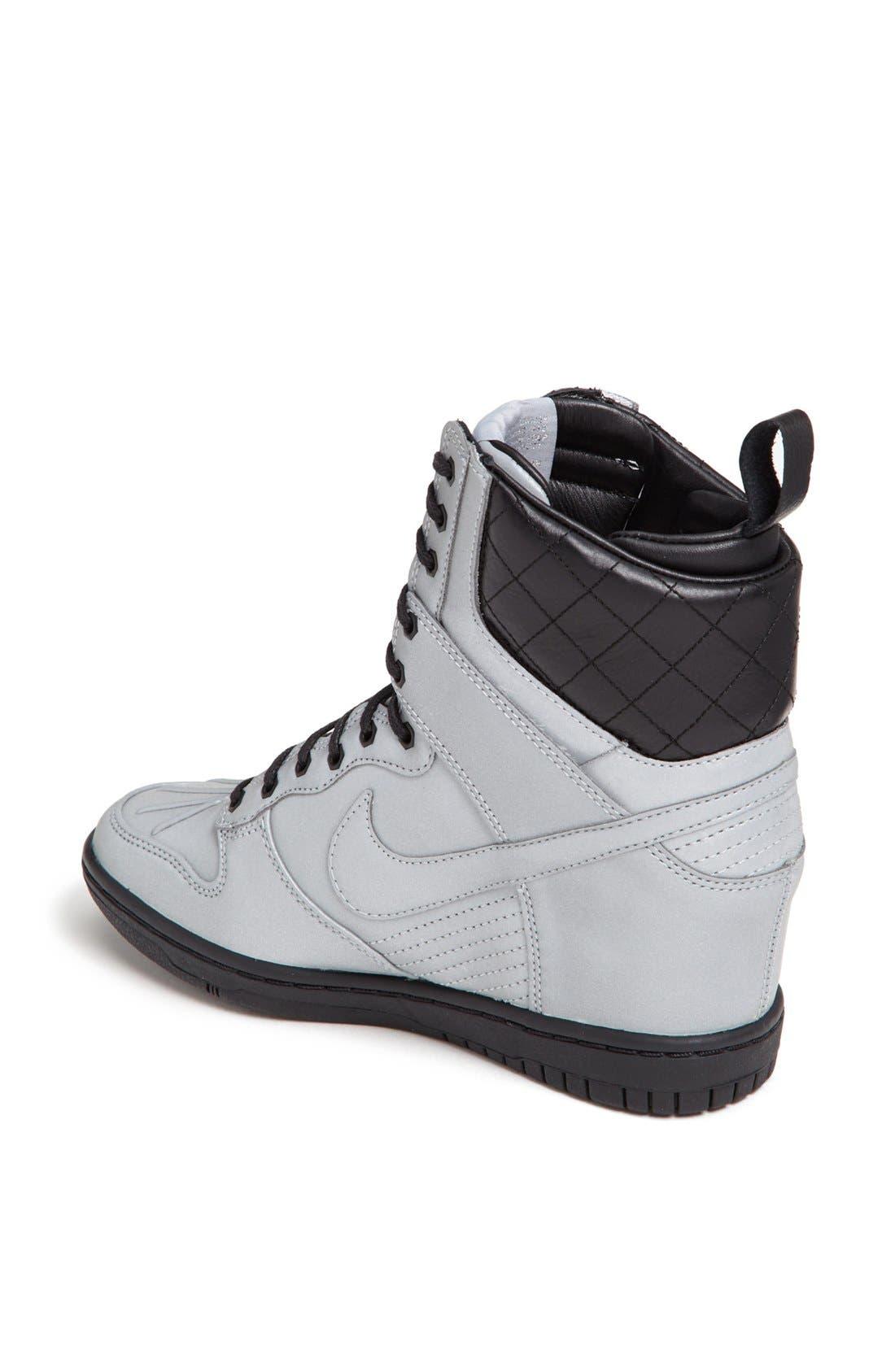 Alternate Image 2  - Nike 'Dunk Sky Hi' Hidden Wedge Sneaker Boot (Women)