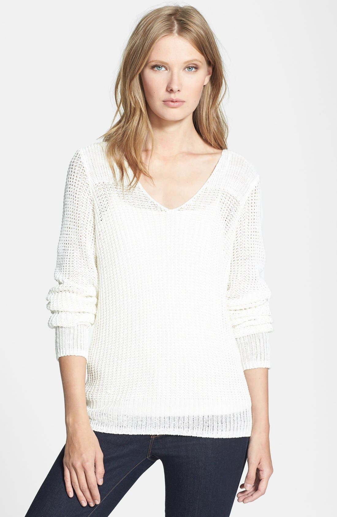 Alternate Image 1 Selected - Joie 'Flanna' Linen Sweater