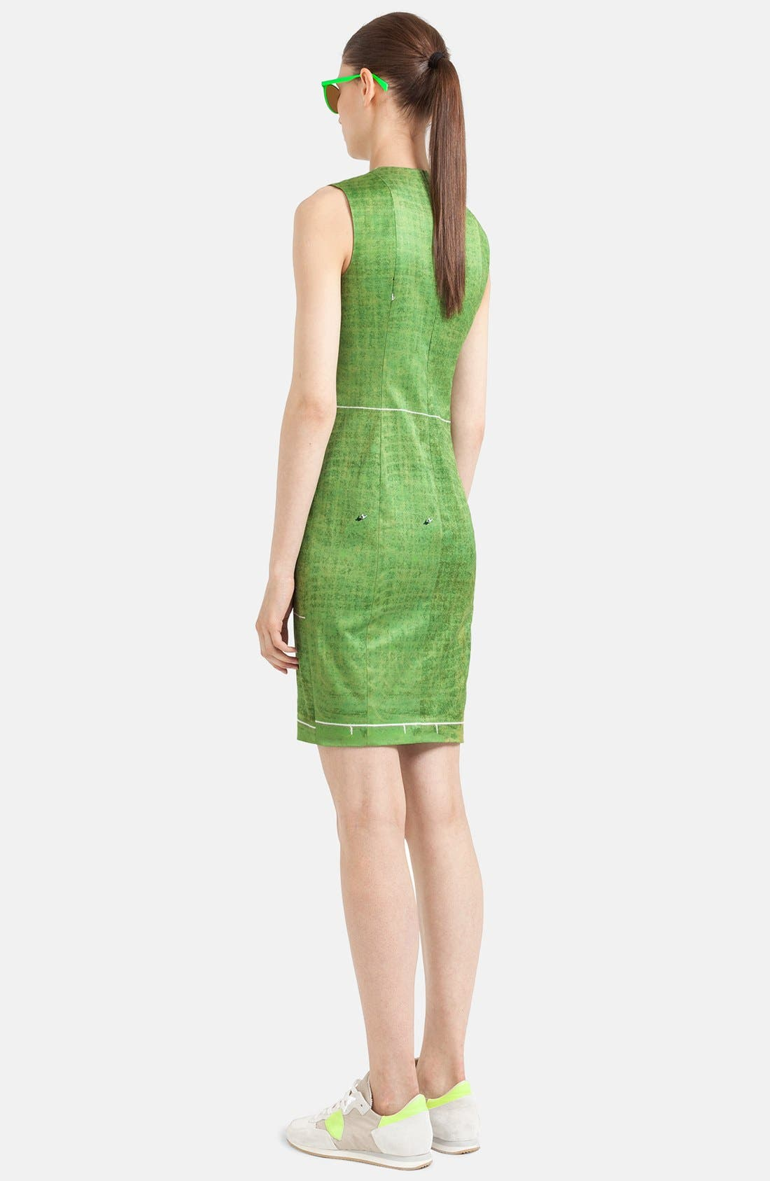 Alternate Image 2  - Akris punto Field Print Sheath Dress