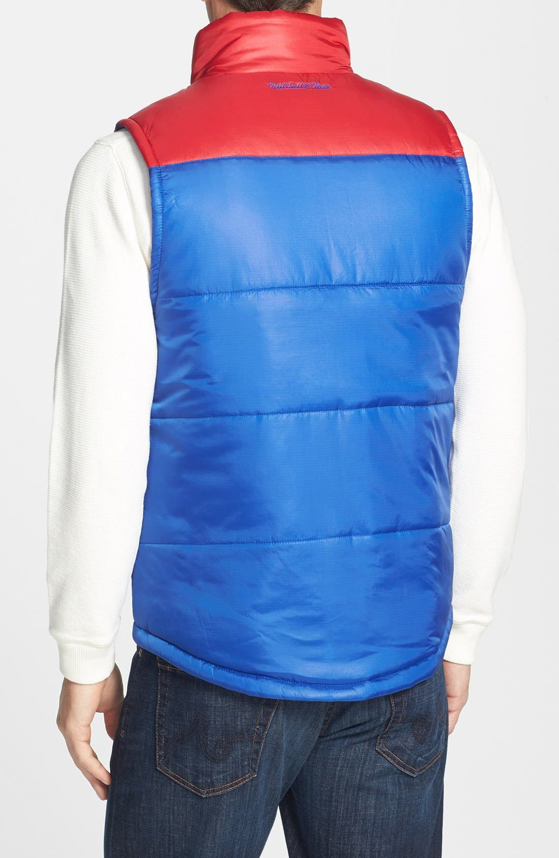 Alternate Image 2  - Mitchell & Ness 'Winning Team - New York Giants' Quilted Vest