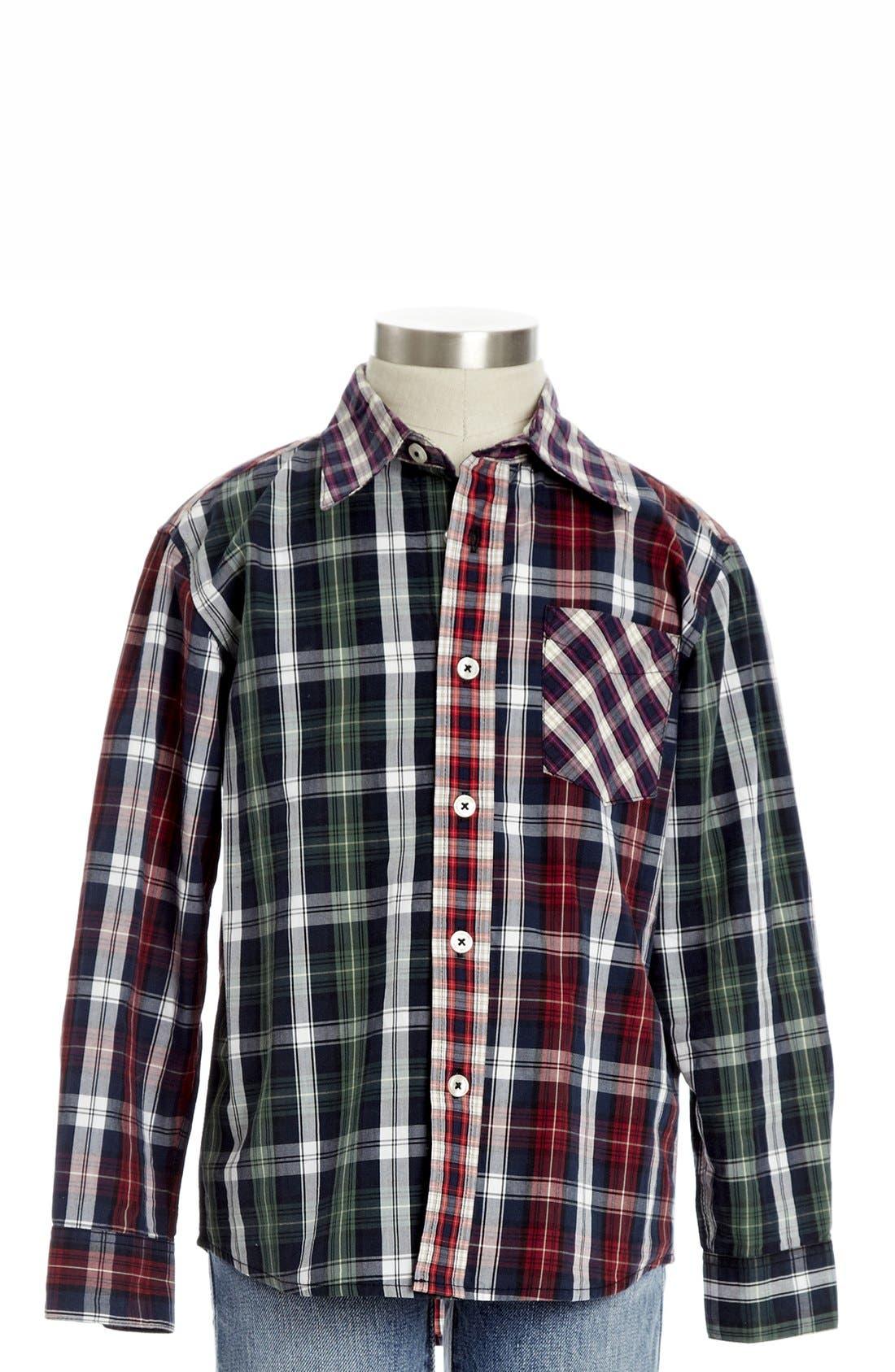 Alternate Image 1 Selected - Peek 'Piedmont' Woven Shirt (Toddler Boys, Little Boys & Big Boys)