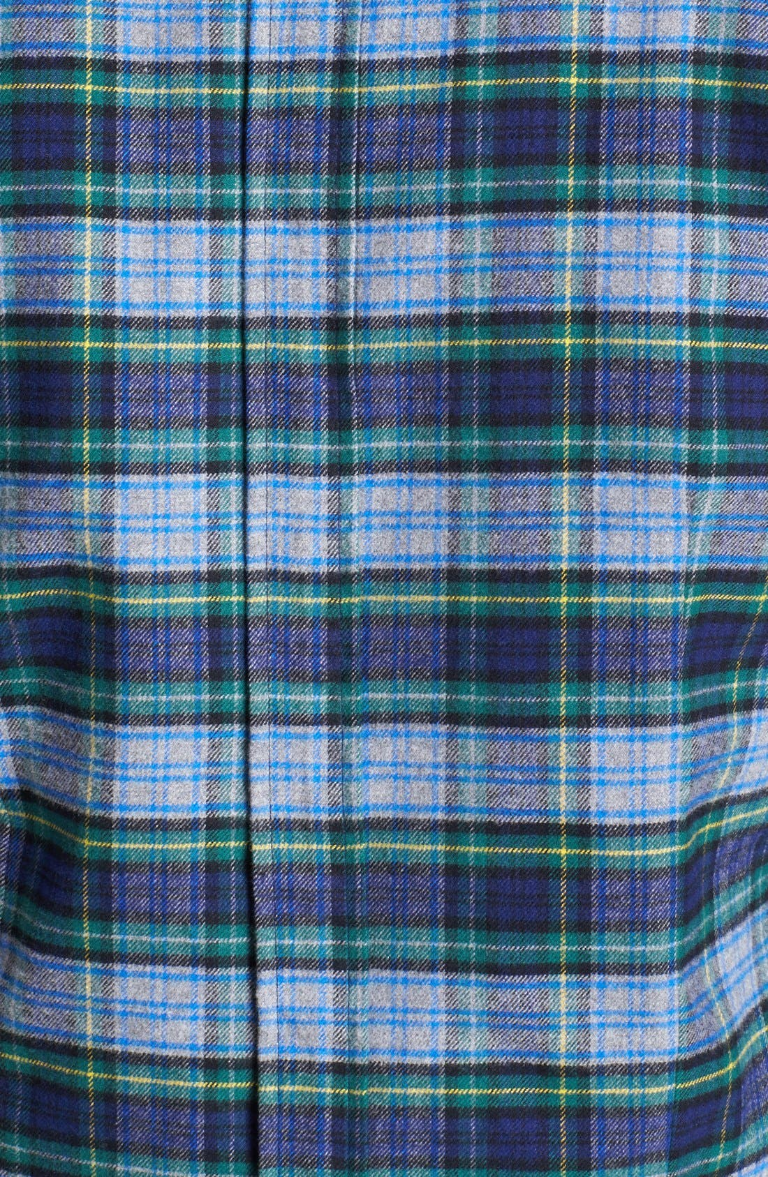 Alternate Image 3  - Band of Outsiders Lightweight Plaid Cotton Flannel Jacket