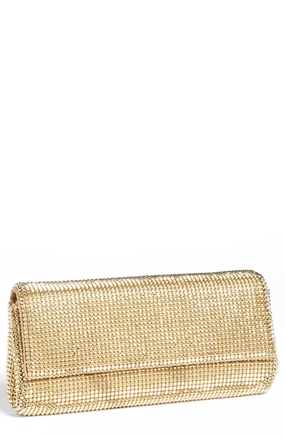 Alternate Image 1 Selected - Whiting & Davis 'Pyramid' Mesh Clutch