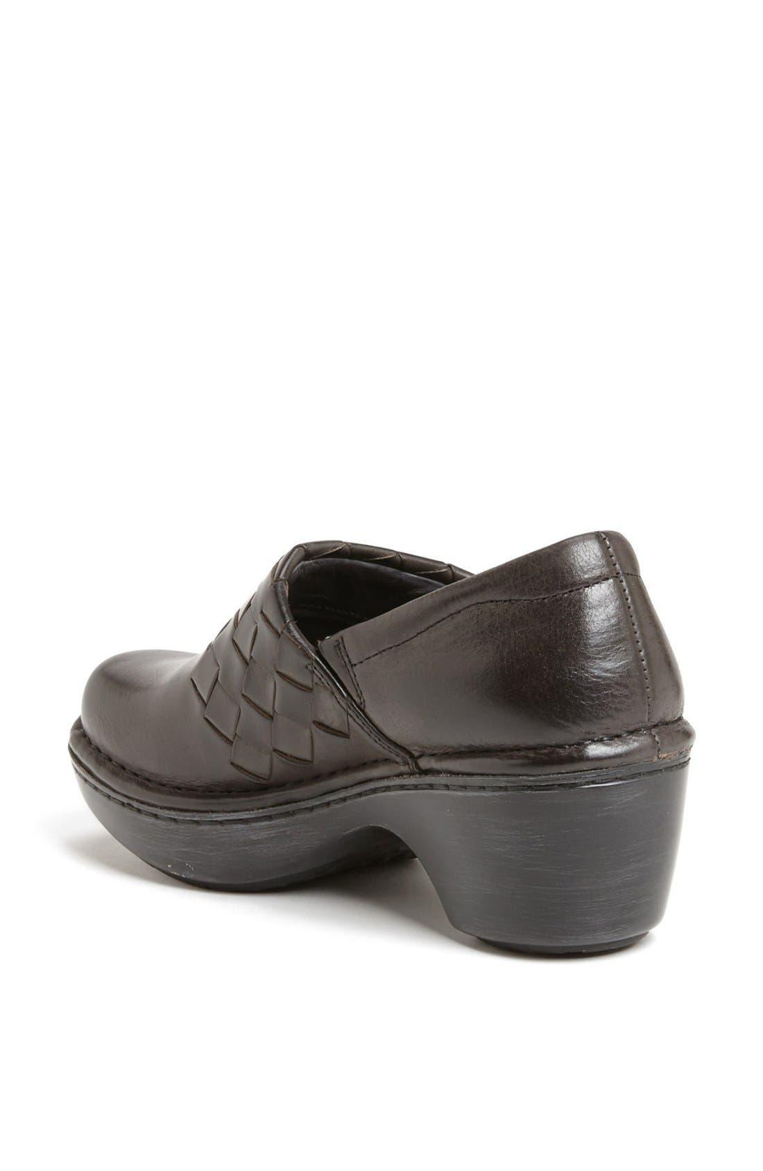 Alternate Image 2  - Ariat 'Ashbourne' Woven Leather Clog