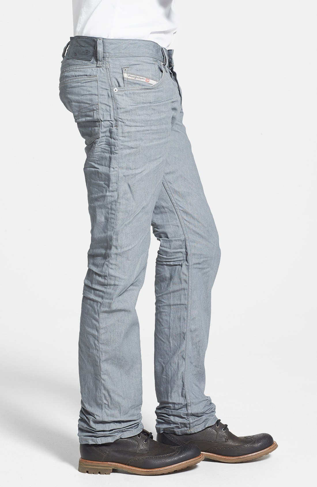 Alternate Image 3  - DIESEL® 'Waykee' Straight Leg Jeans (824H)