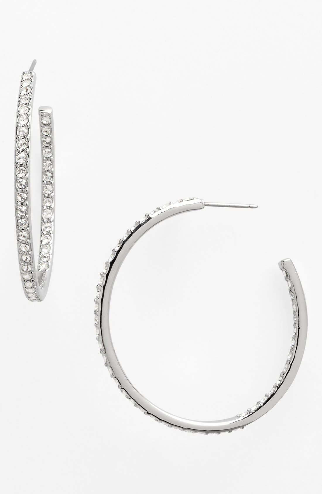 Main Image - Givenchy Large Inside Out Hoop Earrings