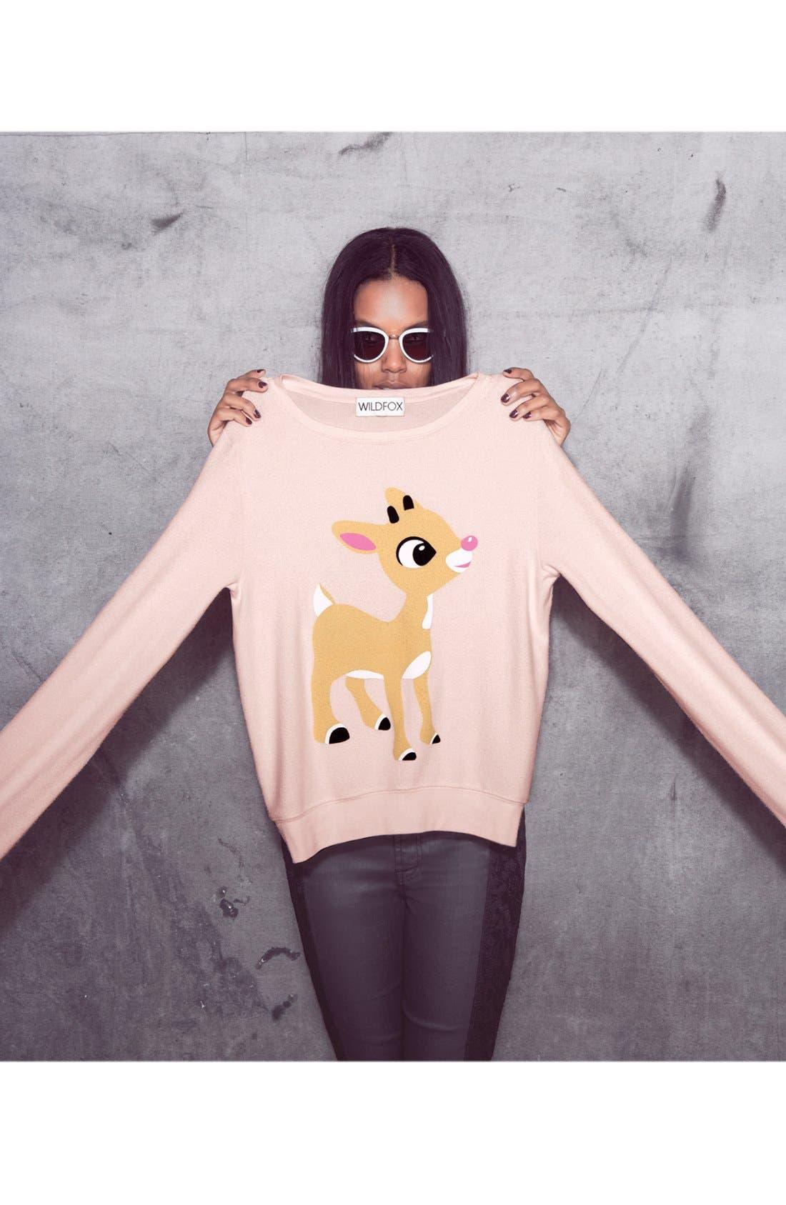 Alternate Image 4  - Wildfox 'Little Helper' Vintage Sweater