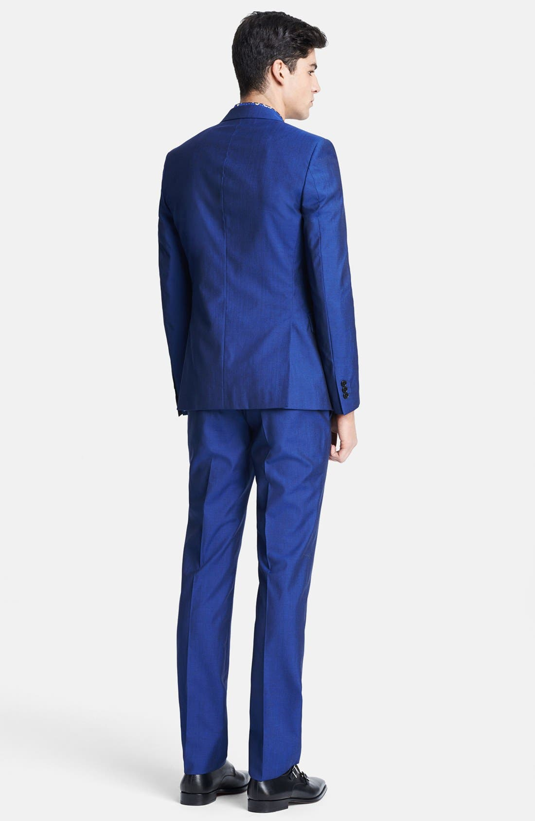 Alternate Image 2  - Versace Trend Fit Wool & Silk Suit