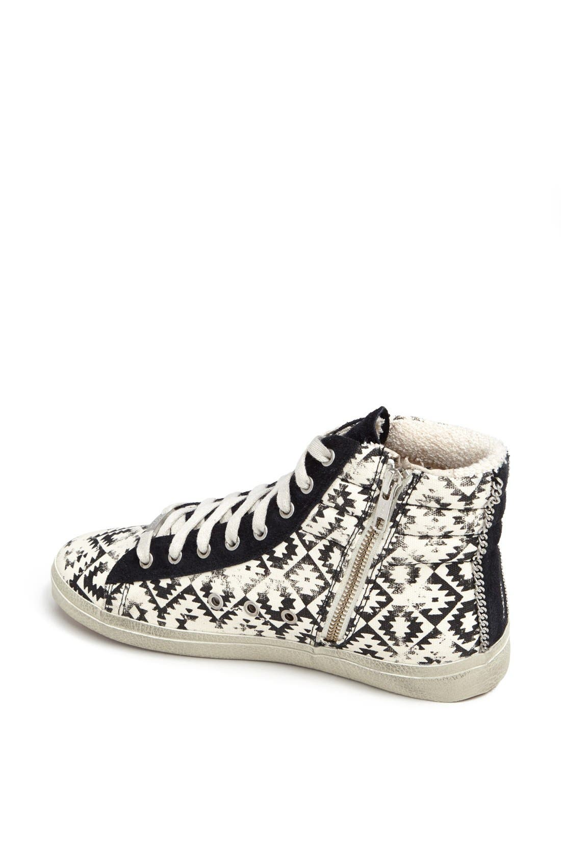 Alternate Image 2  - Kim & Zozi 'Gypster' High Top Sneaker